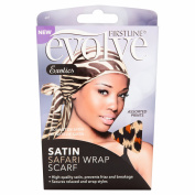 Firstline Evolve Exotics Assorted Prints Satin Safari Wrap Scarf