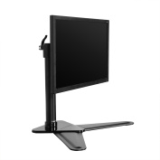 FLEXIMOUNTS DF1 Full Motion Free Standing Desk Mounts Monitor Stand Fits 25cm - 70cm LCD Computer Monitor