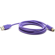 Filemate USB A to USB B Printer Cable, 1.8m