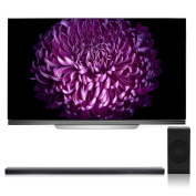 LG OLED55E7P 140cm OLED 4K UHD HDR Smart TV with SJ8 4.1 Channel High Resolution Audio Soundbar with Wireless Subwoofer
