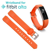 EEEKit Replacement Wrist Bands Soft Silicon Straps Clasp Buckle For Fitbit Alta / Fitbit Alta HR