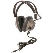Califone Explorer Binaural Stereo Headphone - Stereo - Light Grey, Beige - Mini-phone - Wired - 65 Ohm - 20 Hz 17 kHz