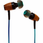 Symphonized DRM Premium Genuine Wood In-Ear Noise-Isolating Headphones with Mic