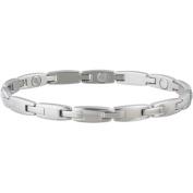 Sabona Ladies' Stainless Magentic Link Bracelet-L/XL
