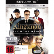 The Kingsman Secret Service 4K Blu-ray 1Disc