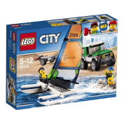 LEGO City 4 x 4 with Catamaran 60149
