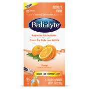 Pedialyte Electrolyte Drink Powder, Orange, Powder Sticks, 20ml Sticks