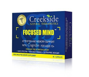 Focused Mind (Capsules) Focus and Memory for Teens and Adults **Now with Cognizin