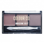 Colour Co. Brow Kit Palette w Tweezer