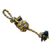 Petzone Dog Rope Pet Toy with Ball 60cm