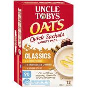 Uncle Tobys Oats Quick Sachet Classics Variety 420g