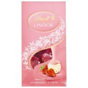 Lindt Strawberries & Cream Bag 125g