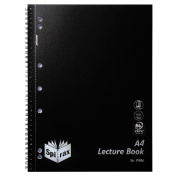Spirax PP Lecture Book P906 Black 140 Page