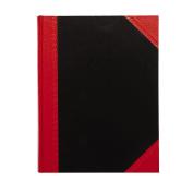 Spirax Notebook Casebound Black/Red A5
