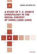 A Study of T. C. Chao's Christology in the Social Context of China