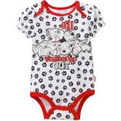 Dalmatians Newborn Baby Girls' Puff Sleeve Bodysuit
