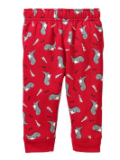 Garanimals Newborn Baby Boys' Print Fleece Pants With Cuff
