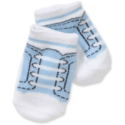 Newborn Baby Girl Sneaker Socks Set - 4 Pack