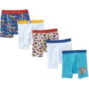 Paw Patrol Toddler Boys' Boxer Briefs, 5-Pack