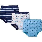 Gerber Toddler Boy Assorted Pattern Training Pants, 3-Pack