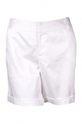 INC International Concepts Women's Flat Front Cuffed Shorts