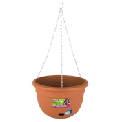 Decor Sorrento Hanging Self Watering Pot Terracotta 34 cm