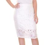 Material Girl Cloud Dancer Skirt Size S NWT - Movaz