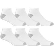 Athletic Works Men's Low Cut Socks 6 Pack