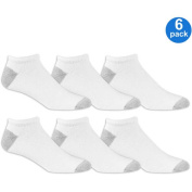 Athletic Works Mens Big and Tall No Show Socks 6 Pack