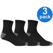 Athletic Works Men's Ankle Socks 3 Pack