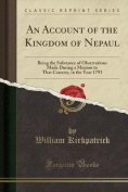 An Account of the Kingdom of Nepaul