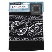 Next Style Single Bandana, Paisley Black