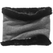 Faded Glory Women's Cold Weather Reversible Cowl Scarf with Fur