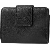 George Women's MicroTwofold Pebble Clutch Wallet