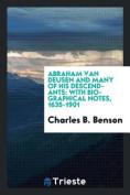 Abraham Van Deusen and Many of His Descendants