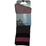 Realtree Ladies Classic Boot Sock, Khaki/Pink
