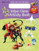 Disney Pixar Wipe-Clean Activity Book