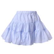 Richie House Little Girls Flint Lightweight Ruffled Skirt 3