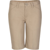 REAL SCHOOL Girls Flat Front Low Rise Shorts School Uniform Approved