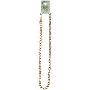 "Vintaj Metal Chain Necklace, 18"", 6mm Etched Cable"