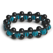 Turquoise Bead Bracelet Craft Kit, Pack of 12