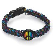 Rainbow Peace Sign Bracelet, Pack of 24