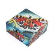 Value Arts Company Butterfly Keepsake Accessory Box