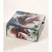 Value Arts Company Horse Family Keepsake Accessory Box