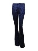 Suede Juniors' Sailor Buttoned Bootcut Jeans