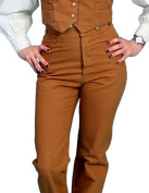 Scully Western Pants Womens Durable Canvas Saddle Seat Pocket RW525