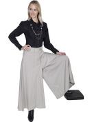 Scully Western Pants Womens Riding Split Skirt Zipper Pockets SL267002
