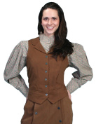 Scully Old West Vest Womens Victorian Brushed Twill Cotton RW531