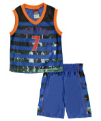 """Mad Game Little Boys' """"New York Stripes"""" 2-Piece Outfit"""