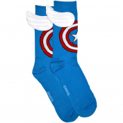 Captain America Winged Socks